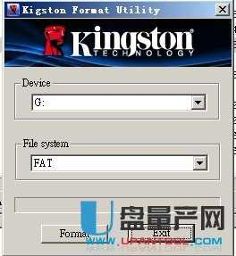 金士顿官方格式化工具Kingston Format Utility 1.0.3.0