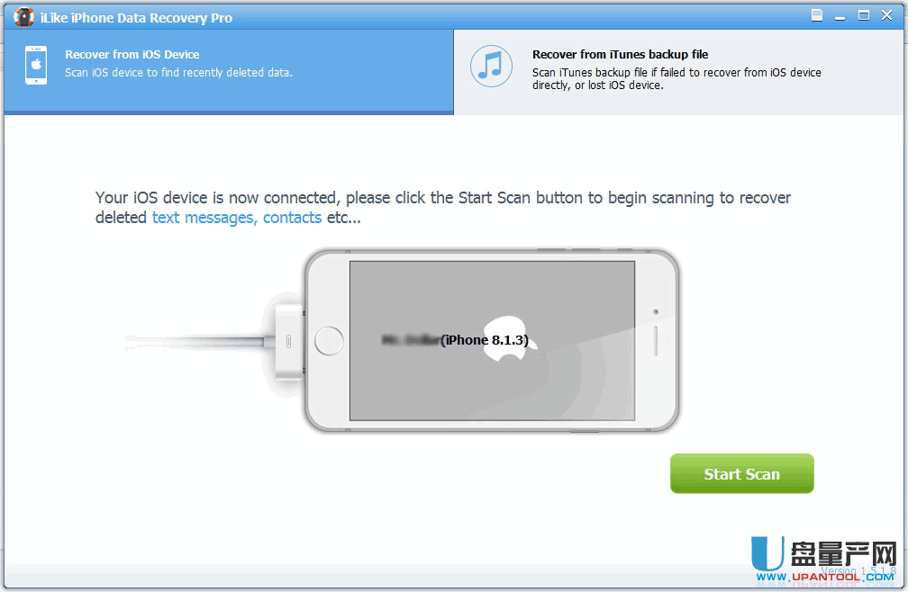 iPhone数据恢复软件ILike iPhone Data Recovery Pro 5.1.5.8无限制版