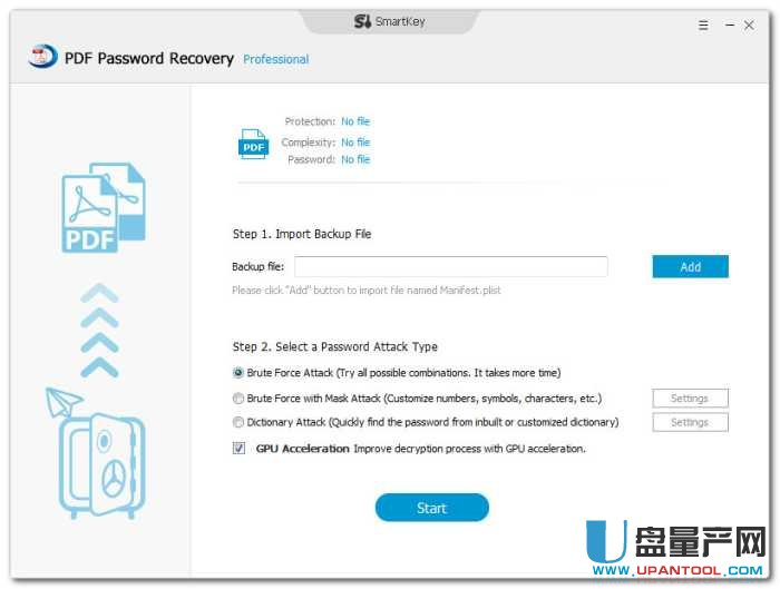 Pdf密码移除器SmartKey PDF Password Recovery Pro 8.0无限版