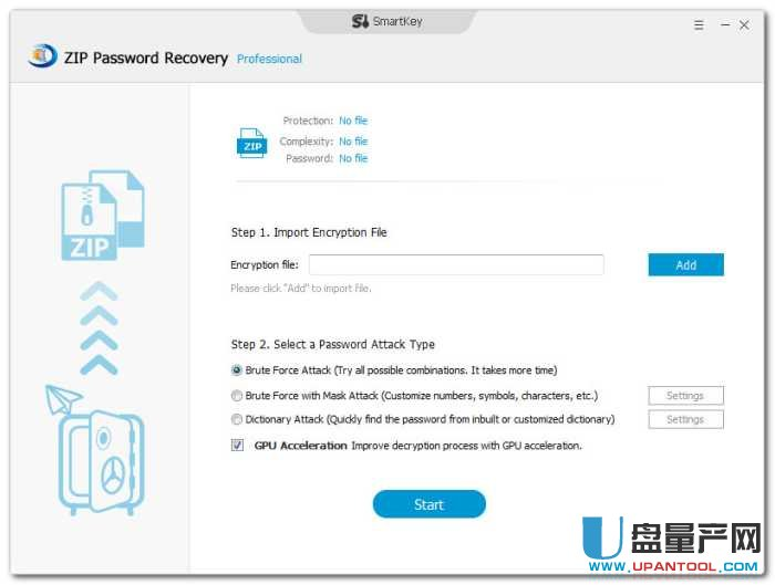 ZIP密码破解SmartKey ZIP Password Recovery Pro 8.0注册版